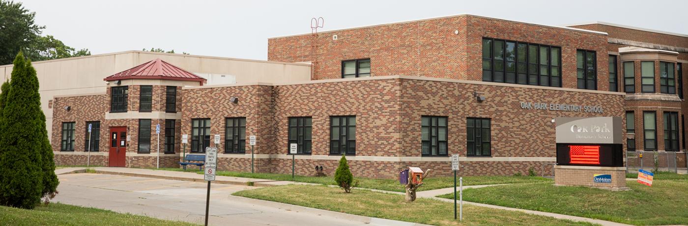 Oak Park Elementary School Building